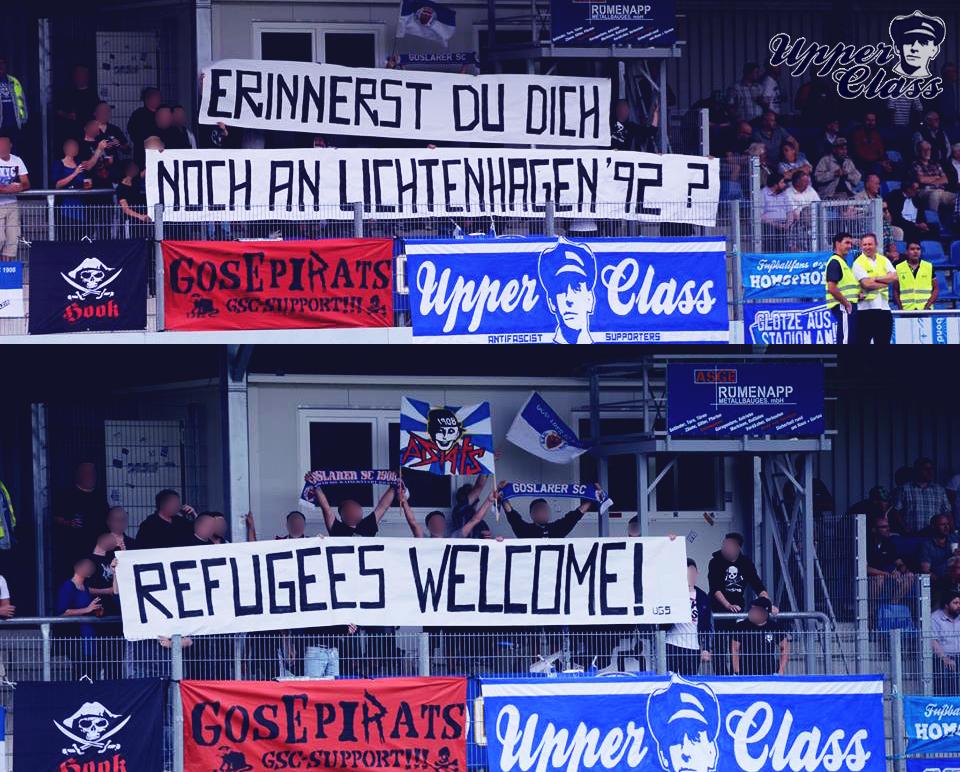 refugeesspruchbandold